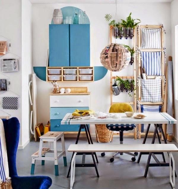 IKEA 2015 cuisine bleue