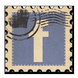 logo Facebook timbre