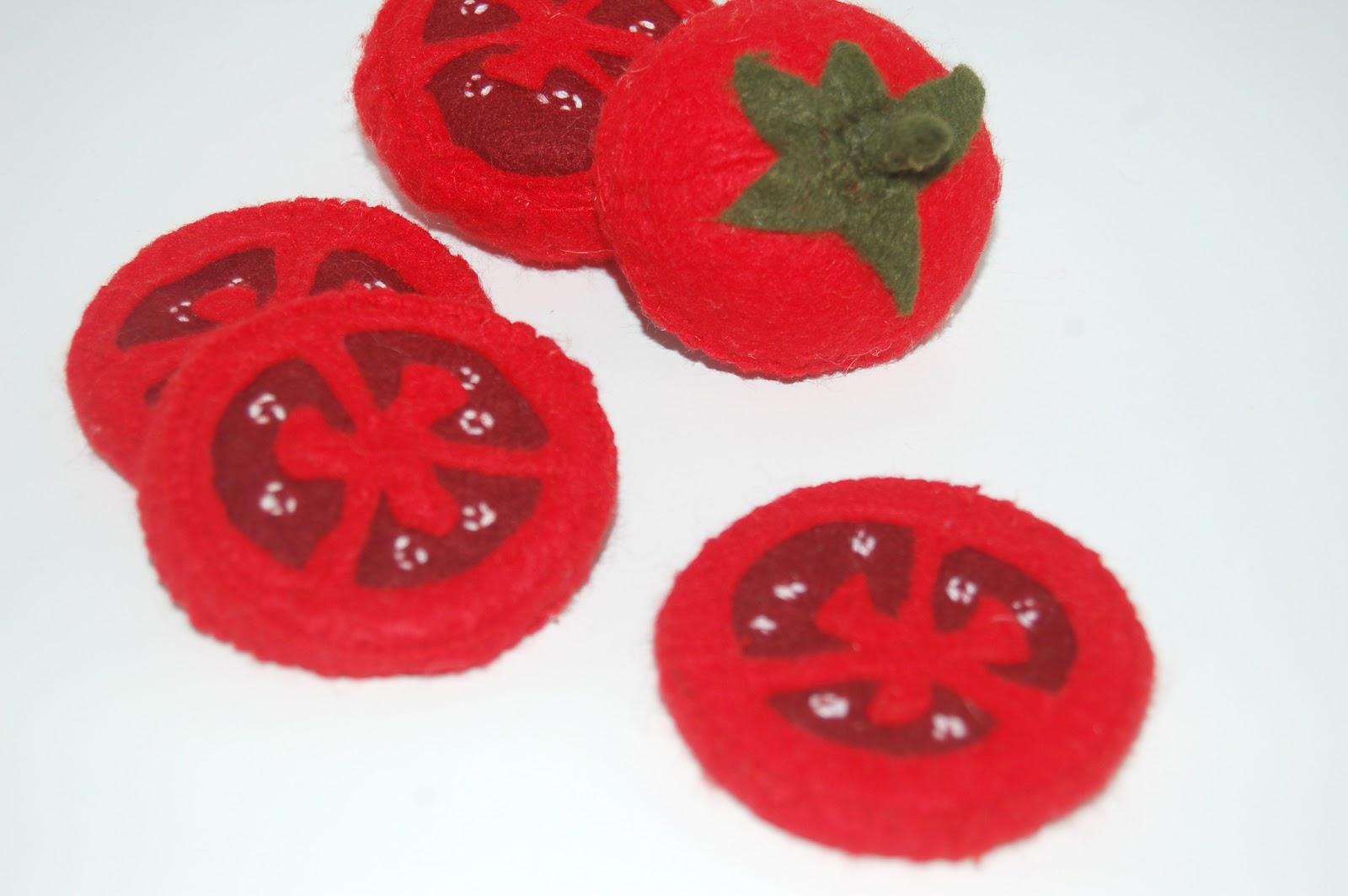 tomate dinette tissu Ptibas