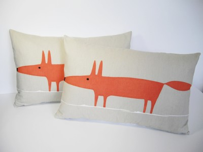 coussin renard Fox Graduate-collection