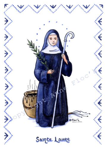 sainte Laure image Anne Floc'h
