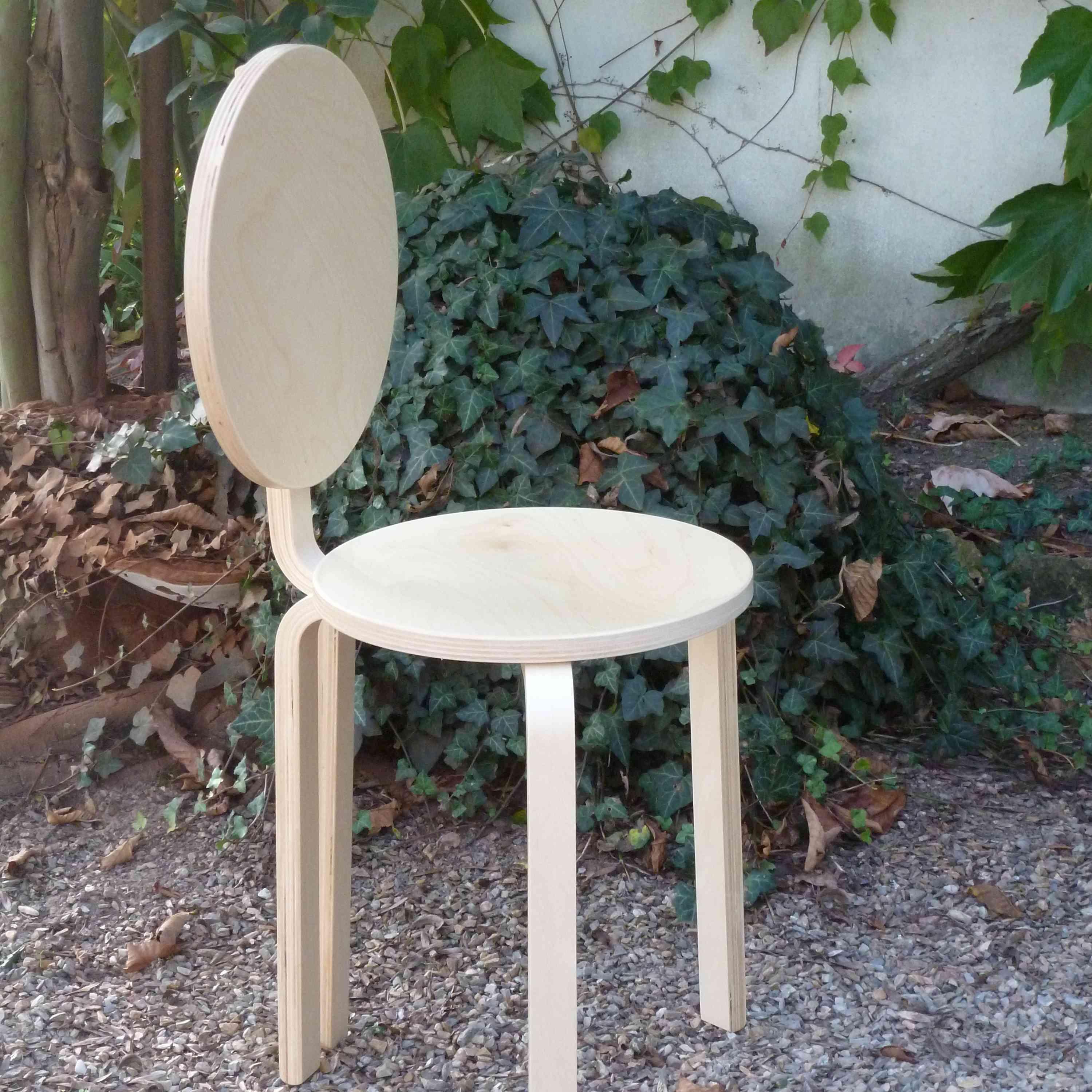 chaise pop detournement tabouret Ikea A-TOUS-LES-ETAGES