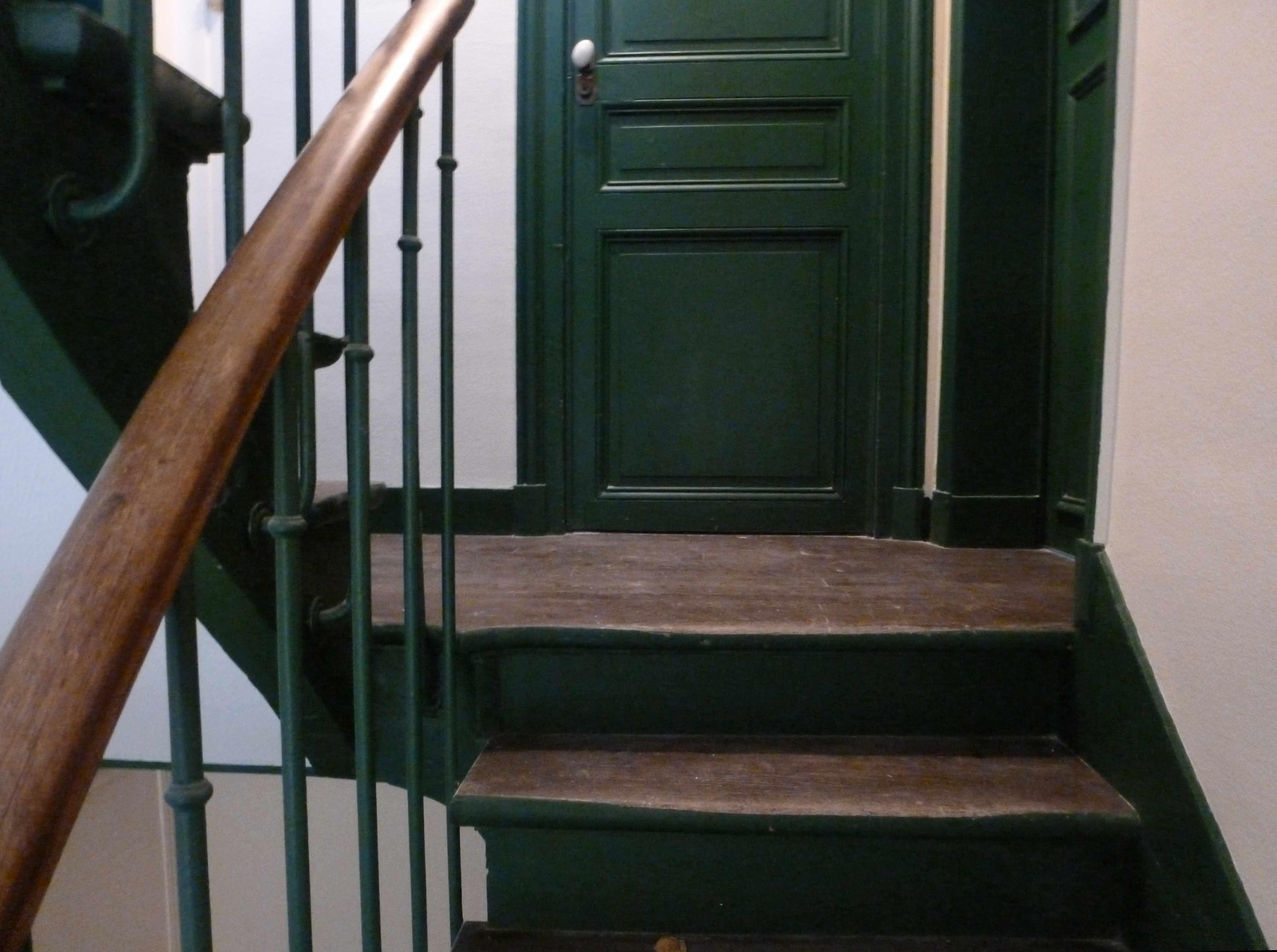 Escalier for Peinture cage escalier immeuble