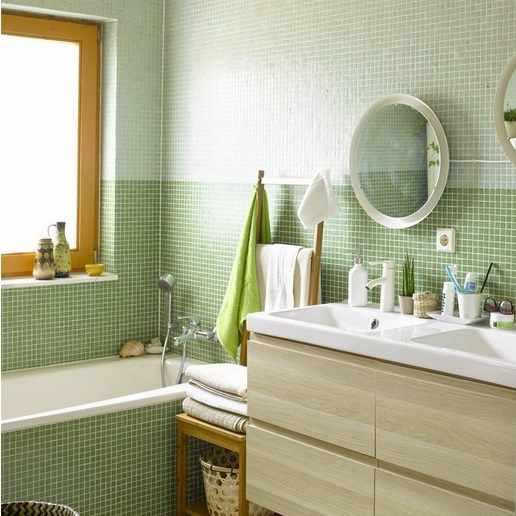 salle de bain verte Ikea 10-2014
