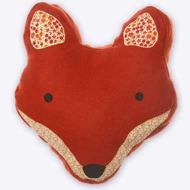 tete de renard feutrine Angus fox