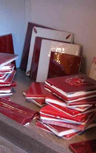 Ceramiques-du-Beaujolais faience cuisine rouge