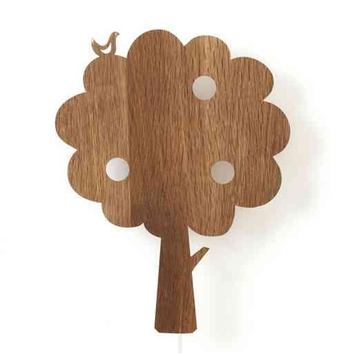 applique arbre et oiseau Ferm-Living