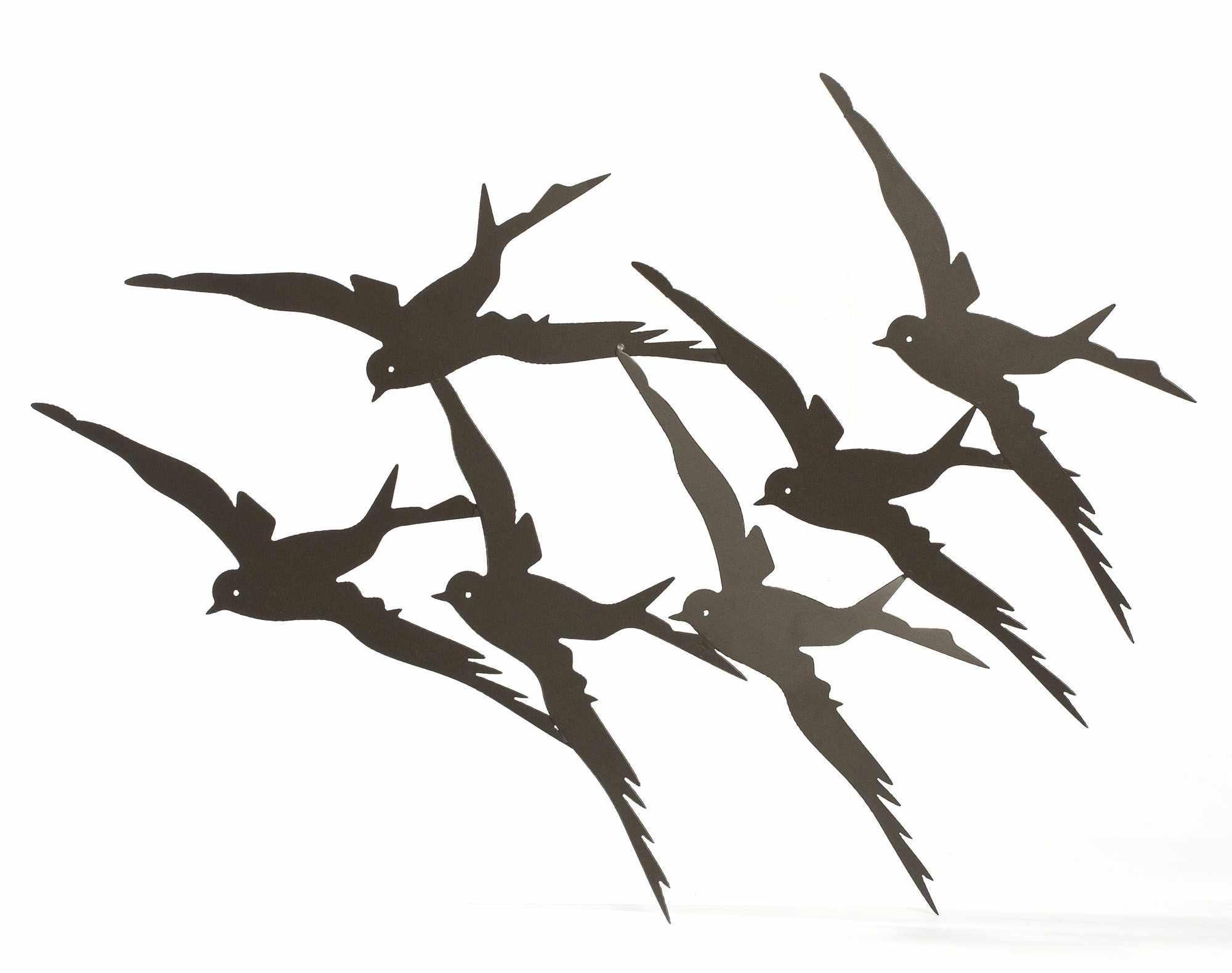 Carmen-deco-murale-fer-oiseaux-Alinea