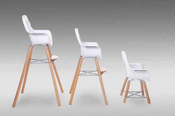chaise-haute-bebe-evolu Contemporary-baby