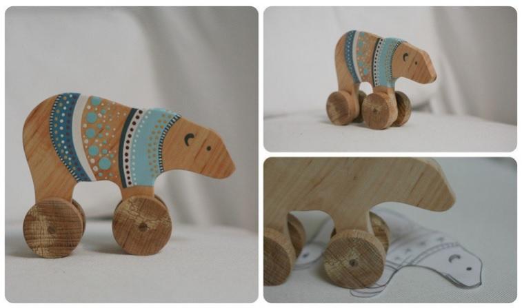 Wooden-bear Kid-et-capucine