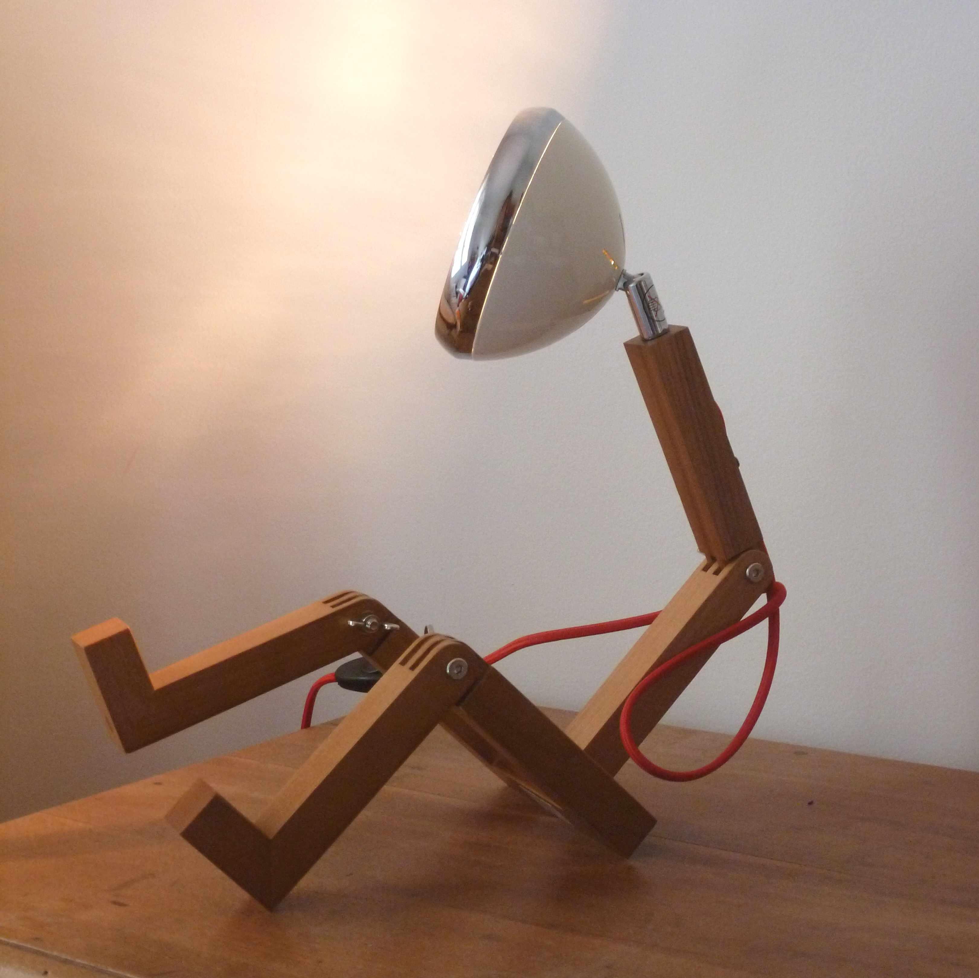 Lampe bureau Mister Woody La chaise longue