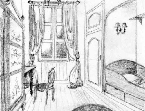 Chambre de jeune fille à Dax