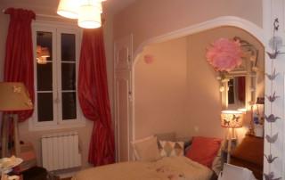 Projet de décoration d'une chambre de jeune fille