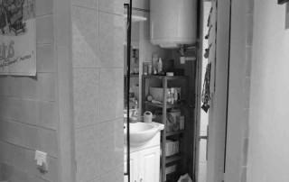 La salle d'eau avant travaux
