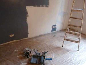 Peinture des murs : bleu gris orage