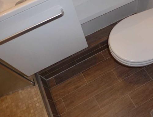 Micro salle d'eau à Paris (15ème)