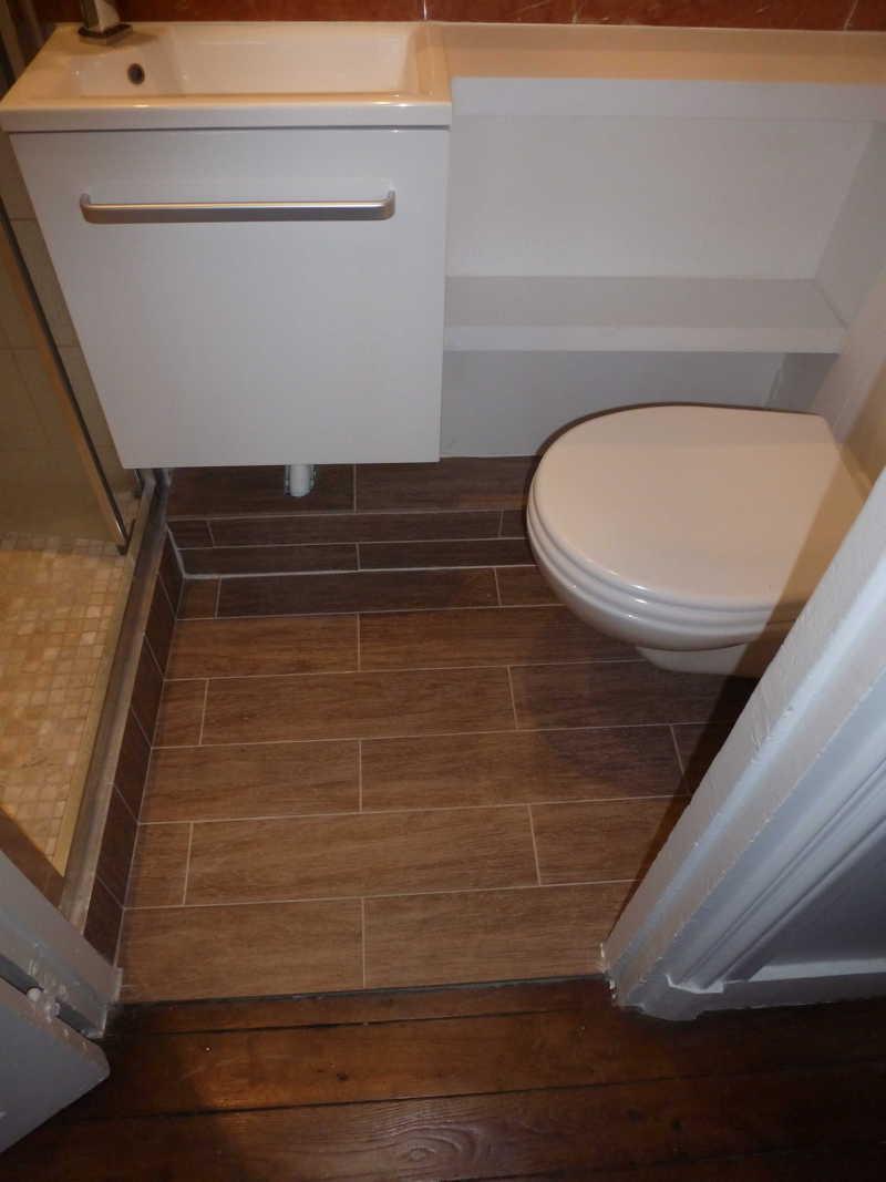 Micro salle d 39 eau paris 15 me tous les tages - Micro salle de bain ...