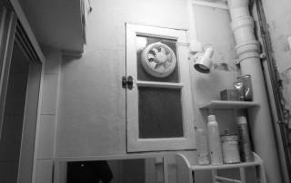 Fenêtre et tuyaux avant