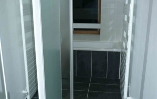 SDB finie - douche et baignoire Lille 2013