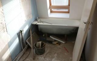 Déplacement de la baignoire Lille 2013