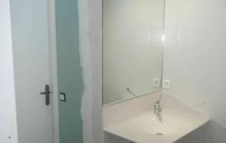 SDE adaptée au handicap 2015 Pose lavabo