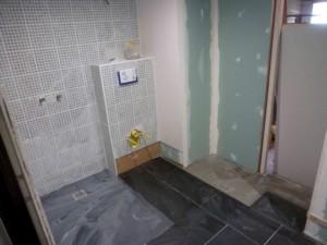 SDE adaptée au handicap 2015 Travaux douche, WC, placard