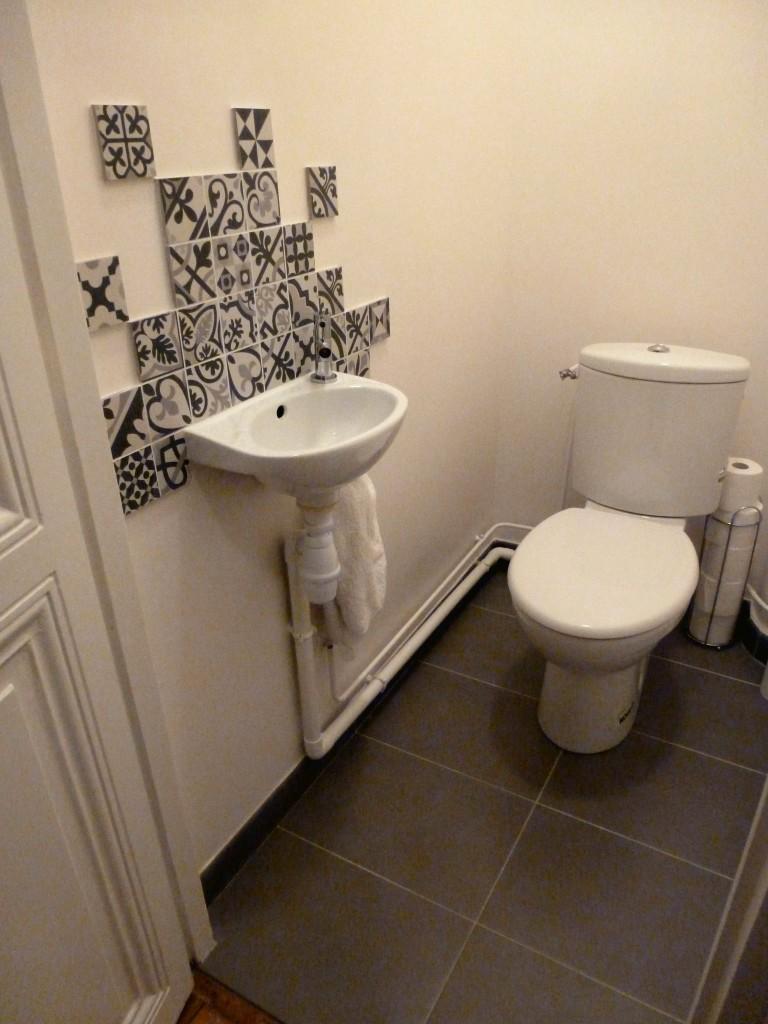 WC blanc sol ardoise carreaux-ciment Boulogne