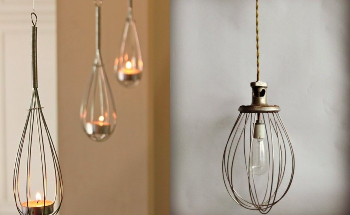 8 Kitchen Utensils as Light Fixtures-Remodelista