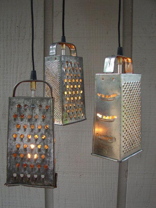 8 Kitchen Utensils as Light Fixtures-rapes-Remodelista