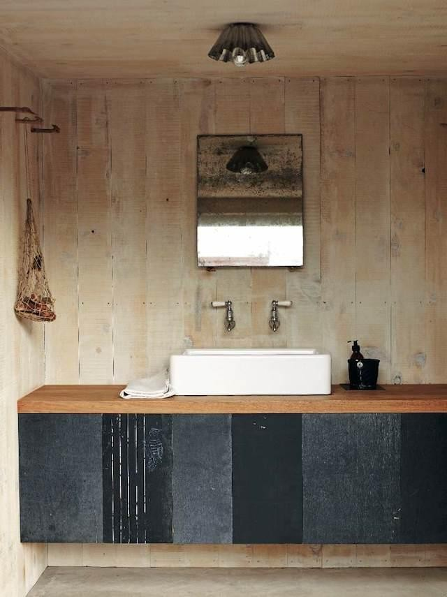 le style wabi sabi dans la salle de bain. Black Bedroom Furniture Sets. Home Design Ideas