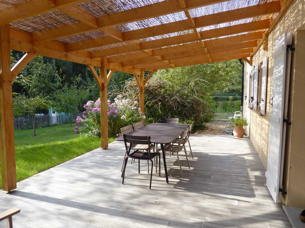 Conseil distance une terrasse au soleil for Recouvrir une terrasse carrelee