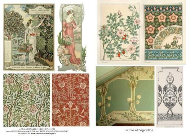 La-rose-et-l-églantine_planche-style_Art-nouveau_A-tous-les-étages