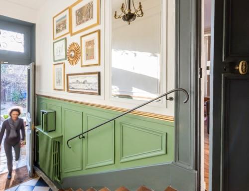 Entrée d'une maison XVIIIe à Versailles