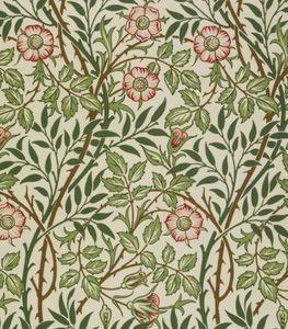 papier peint églantine William Morris 1887