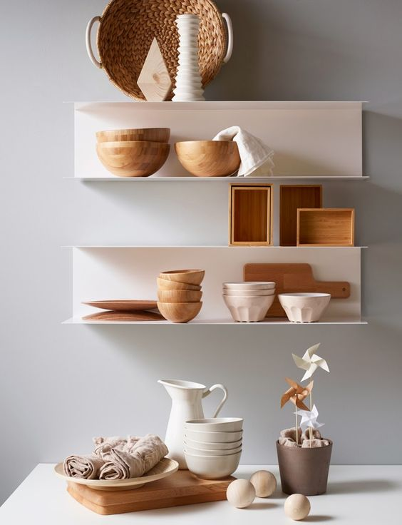 Accessoires de rangement en cuisine beaux astucieux et abordables - Ikea etagere rangement ...