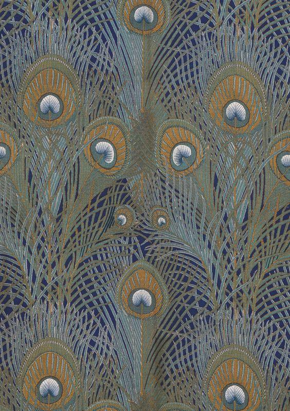 Silver Plume Co >> Art nouveau à tous les étages (8) : les paons
