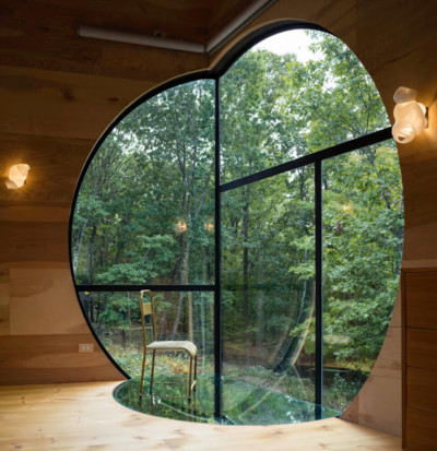 The In of Ex House de Steven Holl Architects à Rhinebeck NY via Berenice-Big