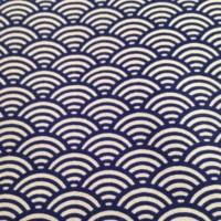 Tissu à motif japonais seigaiha Vagues Bleu Pinterest Etsy