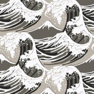 papier-peint-great-wave-Coleandson-coloris-grege