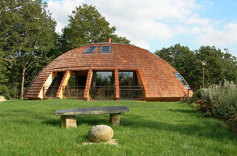 maison_ronde_Domespace_Wooden-Dome-Design-from-Patrick-Marsilli-Garden
