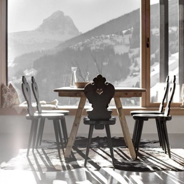 Remodelista Folk chairs-italian Alps