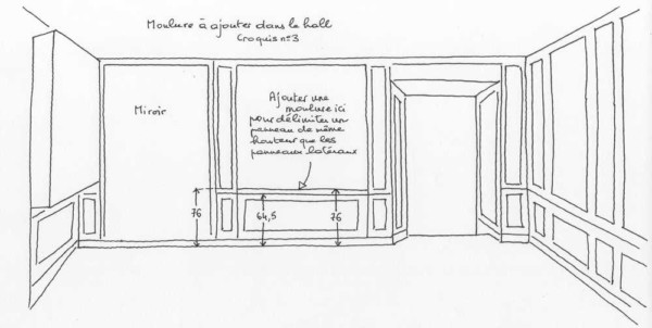 croquis_Atouslesetages_pose_moulures_hall