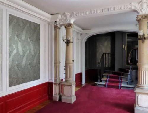 Escaliers d'une copropriété d'époque Art nouveau