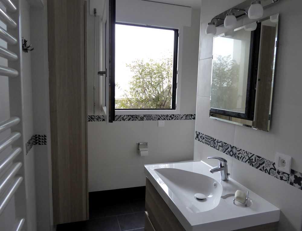 Salle d 39 eau avec buanderie issy les moulineaux tous les tages - Salle de bain buanderie plan ...
