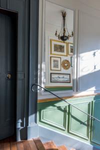 Versailles 2016 - Jeux de miroirs dans l'entrée, après rénovation
