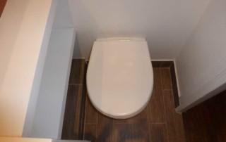 WC (suspendus) après