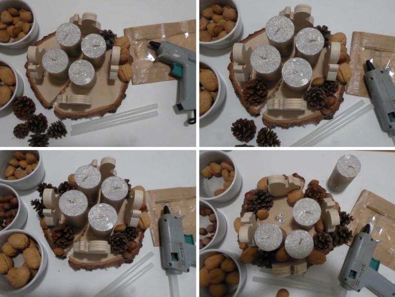 DIY couronne Avent bois ecureuils Atouslesetages conseil deco