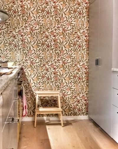IG_AnetteRosevall_papier-peint_William-Morris_cuisine