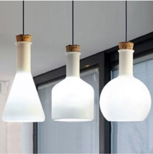 white_glass_bottle_pendant_light