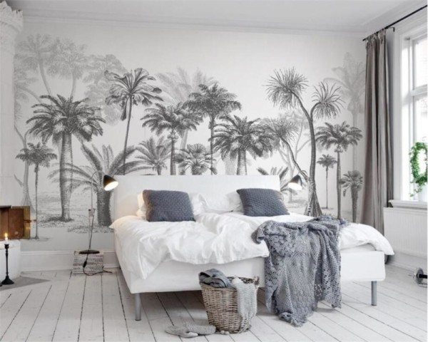 Papier_peint_black_and_white_jungle_mural_concep